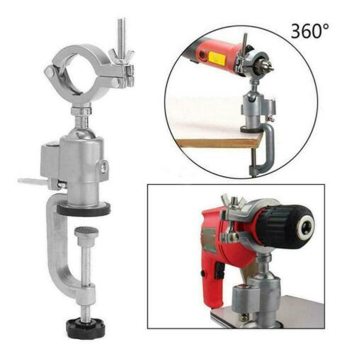 Portable Grinding Stand Mini Electric Drill Grinder Bench Stand Clamp T6E8