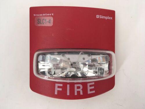 Simplex 4904-9350 Fire Alarm Addressable TrueAlert Remote Strobe