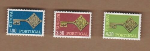 1968 Portugal Europa SG 13379 MUH Set of 3