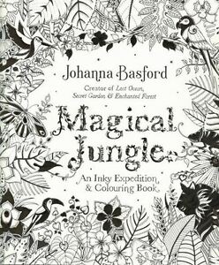 Image Is Loading Magical Jungle An Inky Expedition Amp Colouring Book