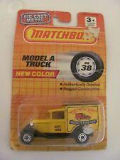 """1990 Matchbox 1953 Model A Truck MB38 """"Model A Ford Van"""" MIP"""