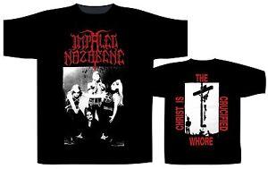 Impaled Nazarene Crucified Whore T-shirt Die Neueste Mode Fanartikel & Merchandise