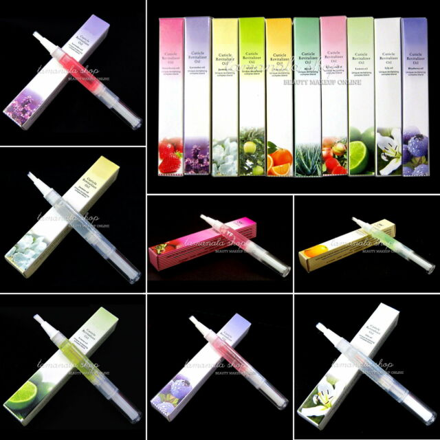 Cuticle Revitalizer Oil Treatment Care Manicure Pen Nail Art Tool Mix Taste