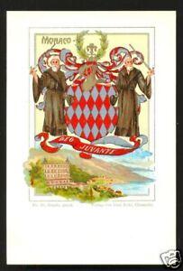 Monaco-Coat-of-Arms-Flag-Paul-Kohl-ca-1899