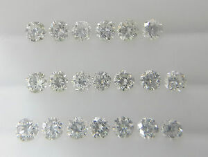 0-6-0-9mm-0-06cts-20pc-Natural-Loose-Brilliant-Diamond-VS-SI-Clarity-G-H-Color