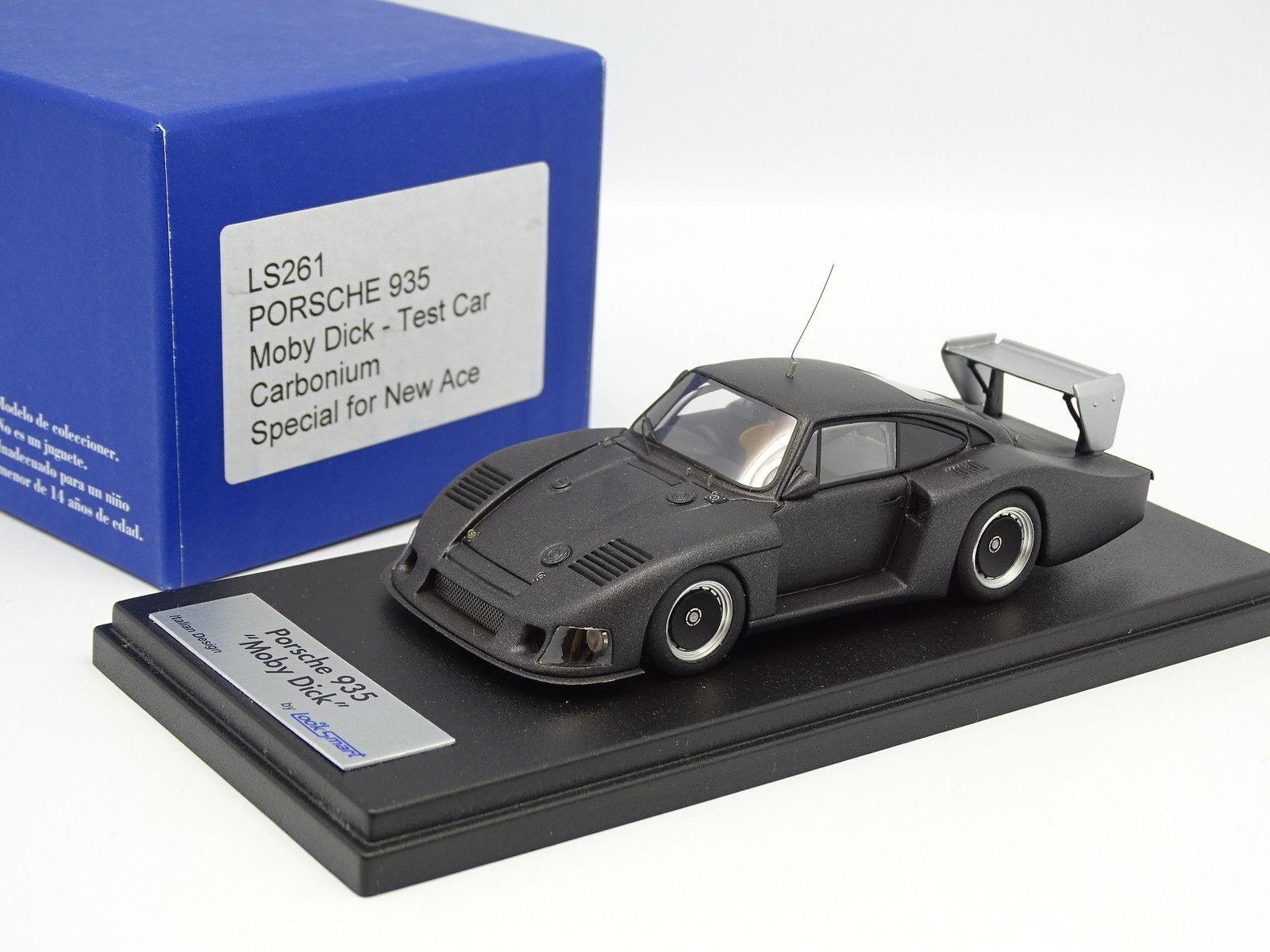 Looksmart 1 43 - PORSCHE 935 MOBYDICK TEST CAR Carbonium