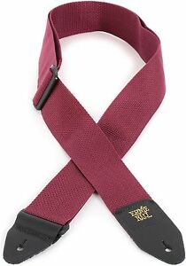 ERNIE-BALL-BURGUNDY-POLYPRO-GUITAR-STRAP-BRAND-NEW