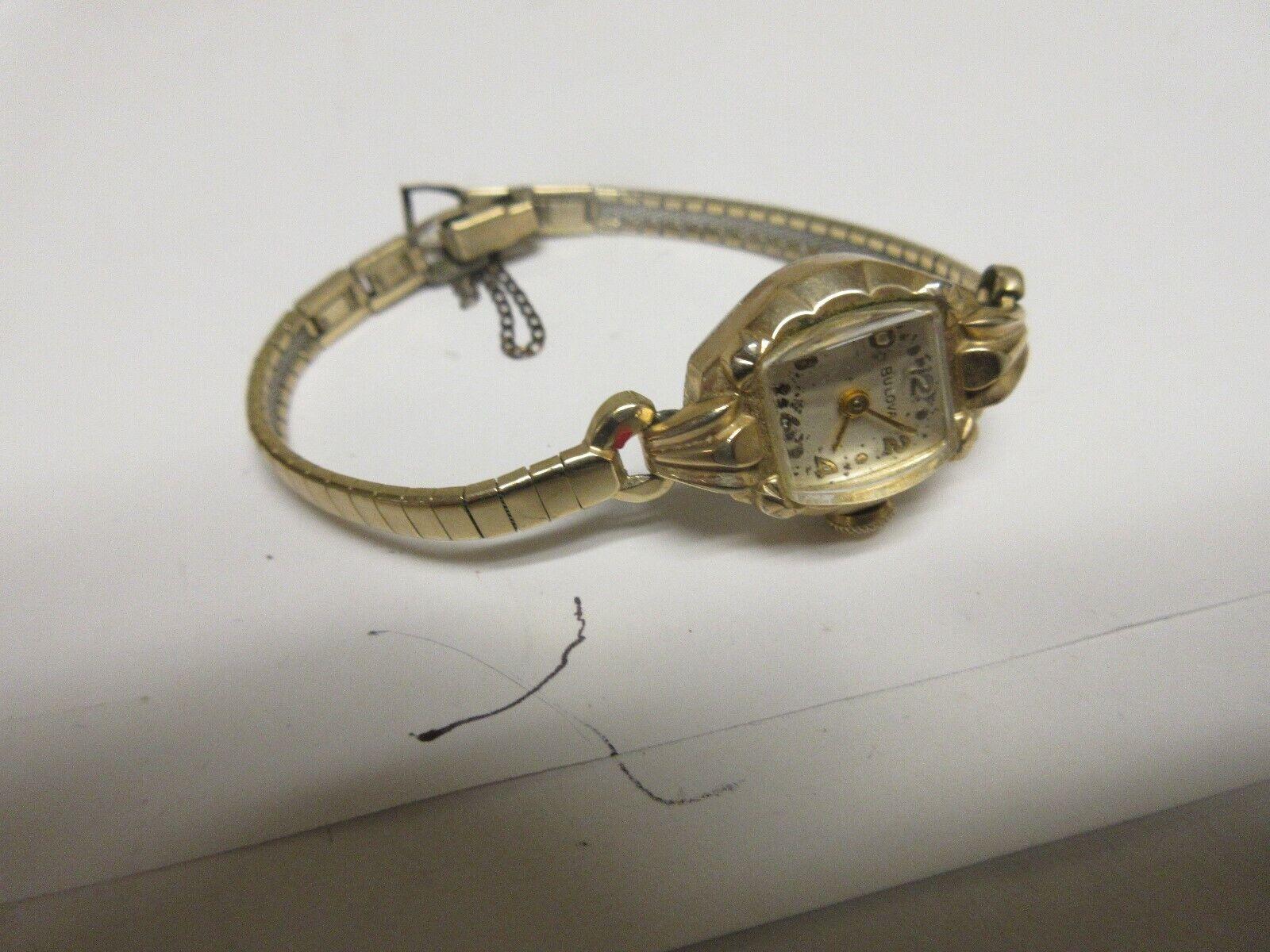 Costume Jewelry , Vintage , Bulova Watch , L7 , T435847