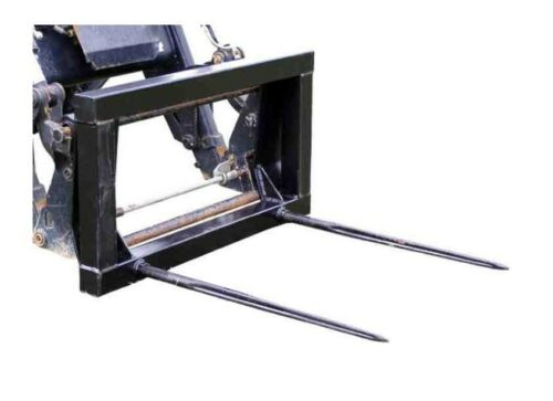 euro-grabación 810mm salientes Ballengabel 2 salientes transporte tenedor strohgabel