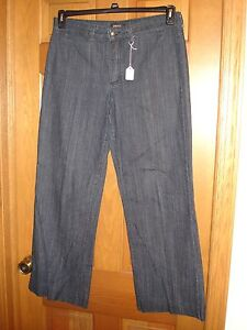 NYDJ-Not-Your-Daughters-Jeans-dark-denim-stretch-size-12-EUC-USED-WORN-14-R