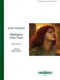 Massenet Méditation De Thaïs Nichols Pour Violon *-afficher Le Titre D'origine