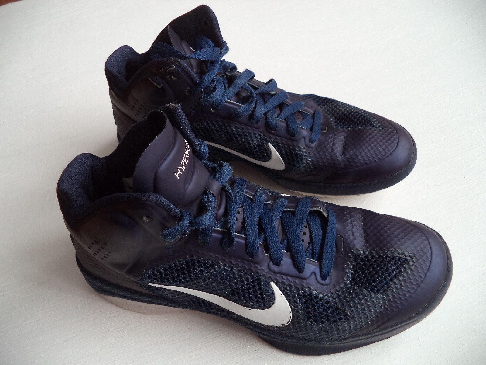 Mens Nike Hyperfuse baskeball shoes Sz 7.5 hoops pro sneakers cool fashion court Seasonal clearance sale