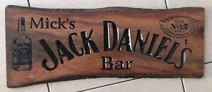 The-Jack-Daniel-039-s-Bar-Ironbark-Hardwood-Slab-Timber-Sign-650mm-Long