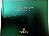 Rolex Submariner Booklet Owners Instruction Manual Book ENGLISH Choose Date