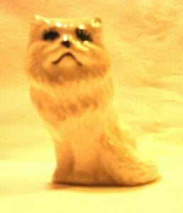 Cat H866 -42.1706 Ceramic White Persian  Cat Pie Vent