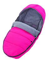 Recaro Fußsack In Pink, Lxb Ca. 95 X 44cm, Für Kinderwagen, Babywannen, Stroller