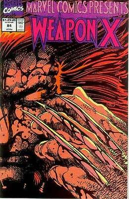 Marvel Comics Presents # 84 (Weapon X by Barry Windsor-Smith) (USA, 1991)