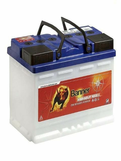 Batterie decharge lente banner energy bull 95901 12v 115ah