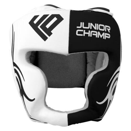 FP Kids Head Guard Junior Helmet Kick Boxing MMA Martial Arts Children Training
