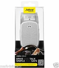 Jabra Drive In Car Bluetooth Handsfree Speaker - White + BILL
