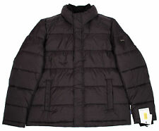 CALVIN KLEIN MEN M WATER RESISTANT QUILTED BLACK COLD WEATHER PUFFER JACKET COAT