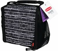 Rubbermaid Lunch Blox Medium Durable Bag - Black Etch , New, Free Shipping on sale