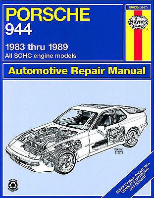 Haynes Workshop Manuale per PORSCHE 944 83-89