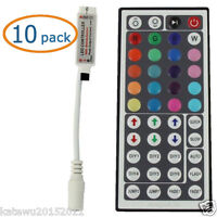 10x Supernight™ 44 Key Ir Remote Controller For Rgb 5050/3528 Light Led Strip
