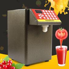 110v Fructose Quantitative Machine Fructose Dispenser For Milk Tea Soft Drink Us