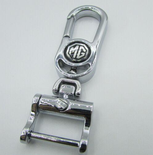 Quality Car Logo Titanium Key Chain keychain Ring Keyfob Metal Key Ring For MG