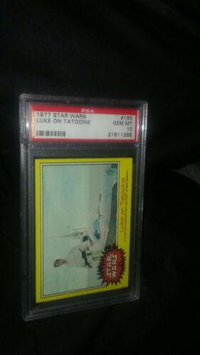 1977 Topps Star Wars #185 Luke On Tatooine PSA GEM MINT 10