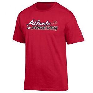 Champion-MLB-NCAA-Atlanta-Braves-Georgia-Bulldogs-Men-039-s-Combo-T-Shirt