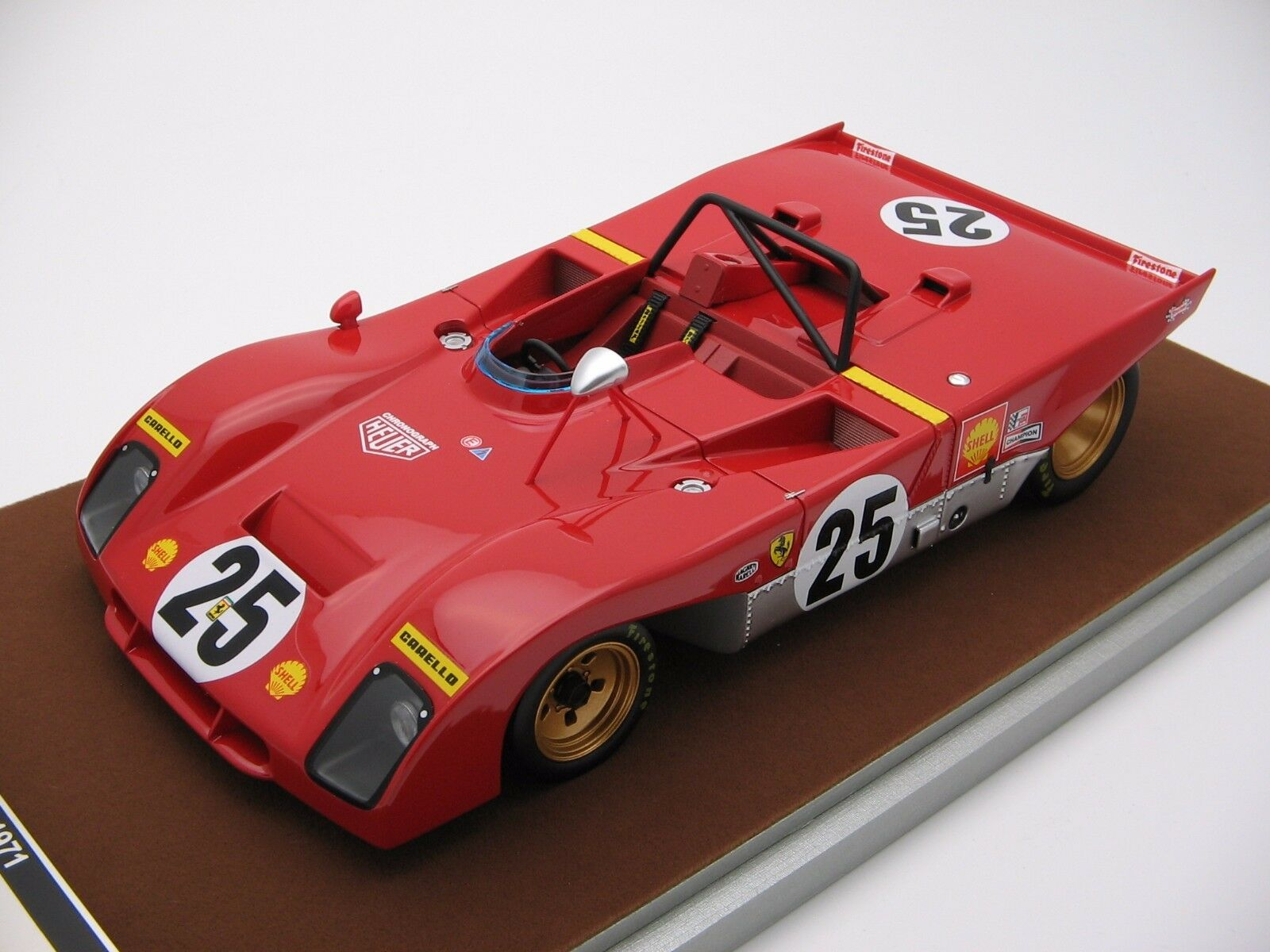 precios ultra bajos 1 18 scale Tecnomodel Ferrari 312PB 312PB 312PB Sebring 12h 1971 TM18-61D  hermoso