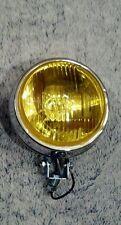bumper mount round amber glass fog lights vw bus bmw e30 e28 m3 gti rabbit ti r