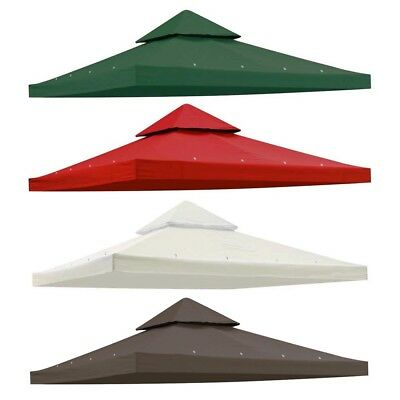2 Tier 11.8/'x9.8/' Gazebo Canopy Top Cover Replacement for Sunjoy L-GZ288PST-4D