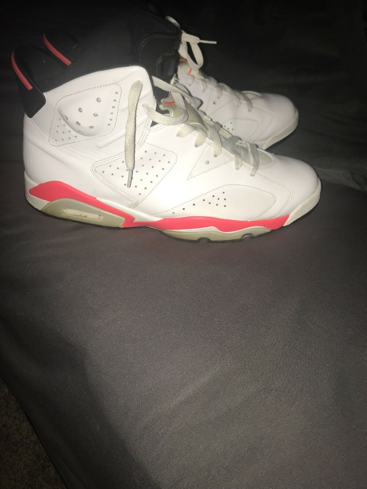 Jordan 6 infrared white size 13 The most popular shoes for men and women