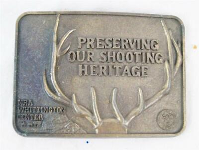Obbiettivo Vintage Nra Whittington Centro Fibbia Cintura Colore Veloce