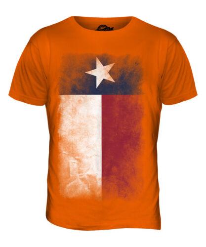 TEXAS STATE FADED FLAG MENS T-SHIRT TEE TOP TEXAN SHIRT JERSEY GIFT