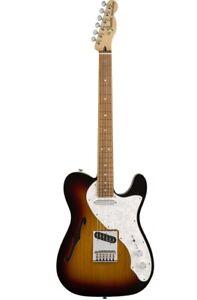 Fender-Deluxe-Tele-Thinline-PF3-TSB-0147603300-E-Gitarre-Telecaster