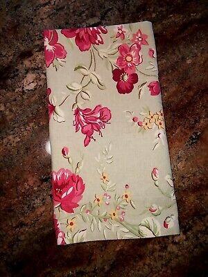 Pottery Barn Standard Manchester Rose Linen Blend Sham Ebay