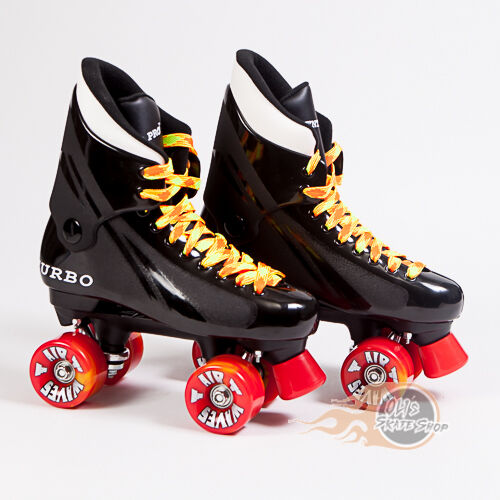 Ventro Pro Turbo Quad Roller Skate, Bauer Style - Orange