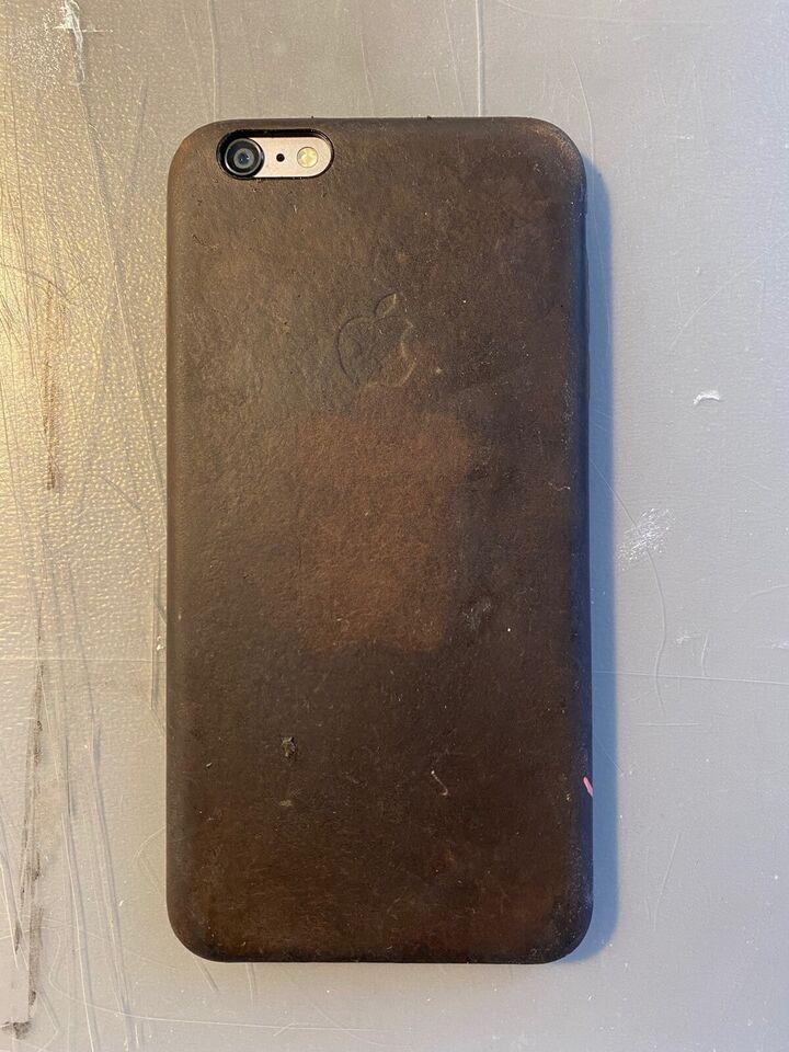 iPhone 6 Plus, 16 GB, sort