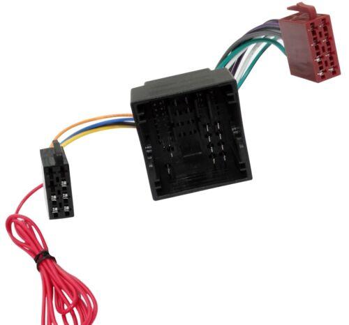 Adaptador cable enchufe ISO para autoradio de Peugeot 3008 Expert