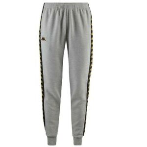 578cdb1e5a KAPPA 3031R30 222 Banda Agrif Slim Fleece Track Pants Grey Black ...