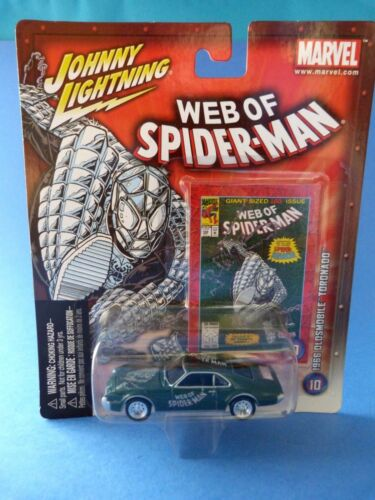 Johnny Lightning - Web of Spider-Man - 1966 Oldsmobile Toronado - Marvel