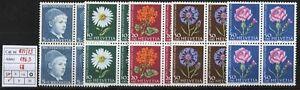 Svizzera-1963-Pro-Juventute-MNH-nn-721-725-Quartine