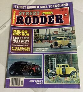 Street Rodder Magazine Wayne Head Story November SLEEVED ISSUE