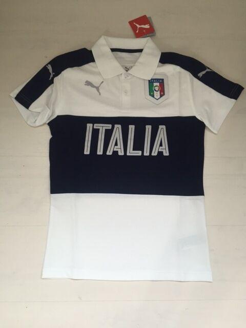 3629 ITALIA PUMA CAMISETA ITALIA JERSEY POLO SHIRT TEE SHIRT