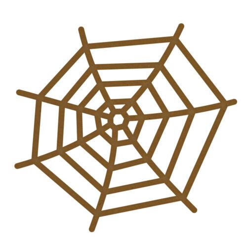 Arañas Web Mdf Corte Láser Craft espacios en blanco en varios tamaños