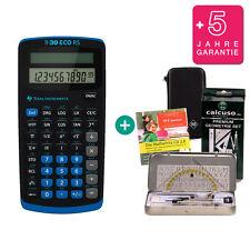 TI 30 ECO RS Taschenrechner + Schutztasche GeoSet Lern-CD Garantie